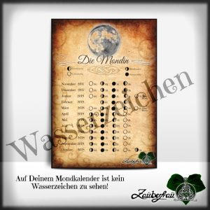 Beispel Mondkalender