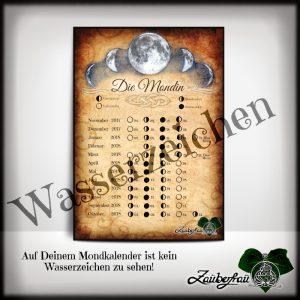 Mondkalender Mondinnen