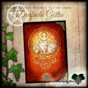 Notizbuch Dreifaltige Göttin